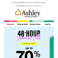 Sizzling Deals 🔥 48-Hour Summer Sale!