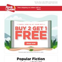 Who likes FREE books?! 🙌