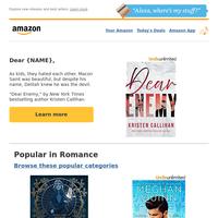{NAME}: Romance Newsletter