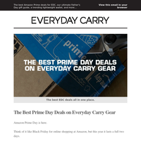 The Best EDC Deals from Amazon Prime Day 💯