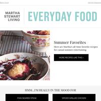 Martha's Favorite Summer Recipes