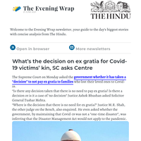 The Evening Wrap: What's the decision on ex gratia for Covid-19 victims' kin, SC asks Centre