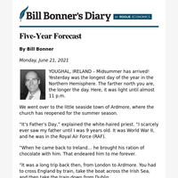 Five-year forecast