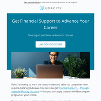 Financial support now available for online tech courses