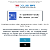 there has never been a Black woman governor