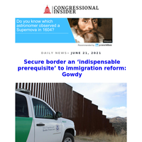 Secure border an 'indispensable prerequisite' to immigration reform: Gowdy