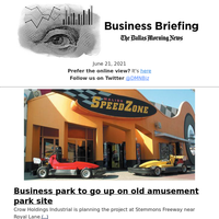 Business Briefing for June 21