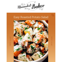 NEW! Easy Roasted Potato Salad with Garlic Dill Dressing