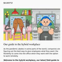 👋 Goodbye WFH, hello hybrid work