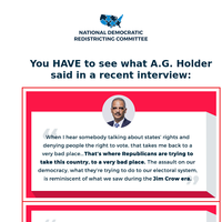 You HAVE to see what A.G. Holder said in a recent interview 👀