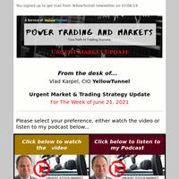 Urgent Market Update