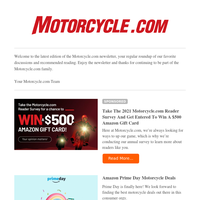 Amazon Prime Day Motorcycle Deals
