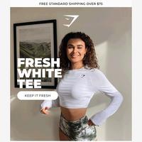 We've got that Fresh White Tee feeling ☀️
