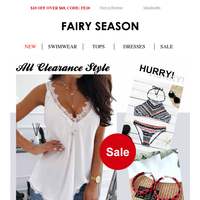 SALE, All Clearance Style, From $0.99!