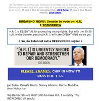 😱 Joe Biden just A-M-A-Z-E-D us... (it's about H.R. 1 >>)