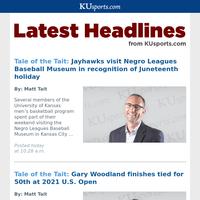 KUsports.com Headlines for June 21