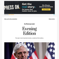Evening Edition: Garland tries to untangle the Trump legacy at Justice Dept.