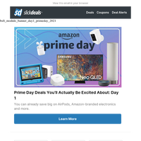 Amazon Prime Day: $900 Off Sony 4K TV, $200 Off Samsung Galaxy S20 & 18 Other Great Deals