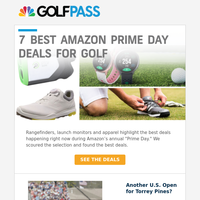 7 best golf Prime Day deals 🏌️♂️