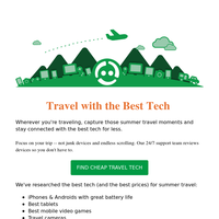 Top Devices for Travel this Summer