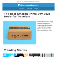 The Best Amazon Prime Day 2021 Deals for Travelers