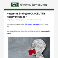 Networks trying to CANCEL this money message?