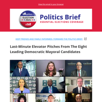 A Last-Minute Pitch From Each Mayoral Candidate