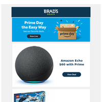 Take a Prime Day Break—NEW Deals added!