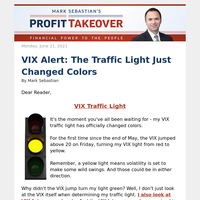 VIX Alert: The Traffic Light Just Changed Colors
