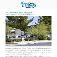 Your VVNG Newsletter 06/21/2021
