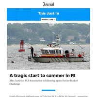 This Just In: A tragic start to summer in RI