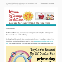 It's Like Black Friday In June! {Taylor's Round Up Of Amazon Prime Day Deals}