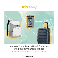 Amazon Prime Day Is Here! These Are the Best Travel Deals to Shop