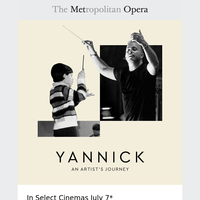 Yannick: An Artist's Journey Coming to Select Cinemas July 7