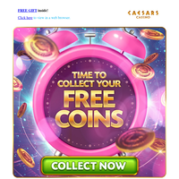 It's FREE COIN ⏰Time⏰!