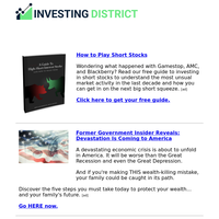 How to Play Short Stocks...FREE GUIDE