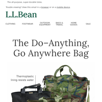 Totes Built for the Field, Yet Versatile for Every Day