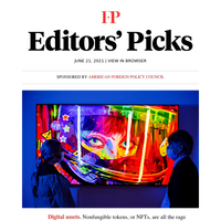 Editors' Picks: What are NFTs—and are they always bad?