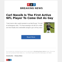 Carl Nassib Is The First Active NFL Player To Come Out As Gay