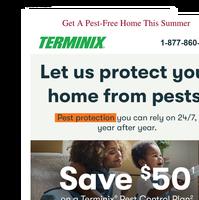 Let Terminix solve your pest problem this Summer