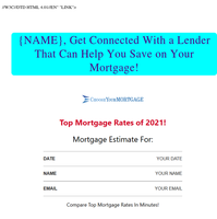 Mortgage Rates at an All-Time Low! Don't Miss Out!