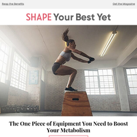 The One Piece of Equipment You Need to Boost Your Metabolism