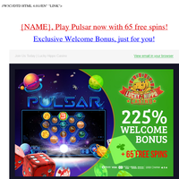 You're just in time for our Special Bonus!