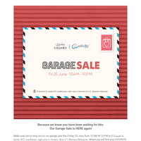 {NAME}, You're invited to our Garage Sale this Friday!💌