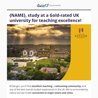 {NAME}, choose a world-class university