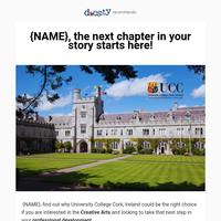 {NAME}, discover the best school in Arts of Irland🎨
