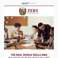 {NAME}, brand-spanking new! Real-World Skills MBA