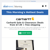 This Morning's Top Deals: Wayfair Garage and Storage Sale: Shop over 2,900 items & More