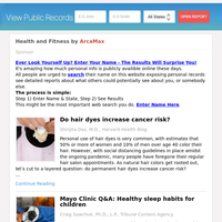 Health and Fitness for Thursday July 8, 2021