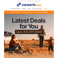 HEADS UP: New Deals Just Dropped